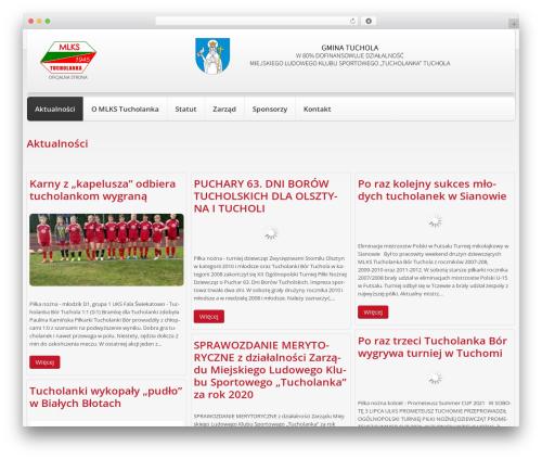 cherry WordPress template - tucholanka.pl
