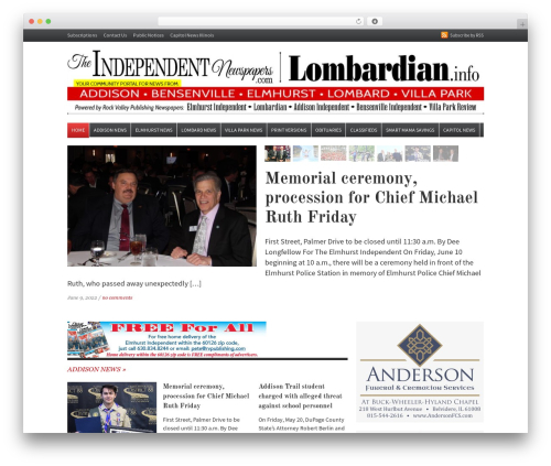 Daily Headlines WordPress news theme - theindependentnewspapers.com