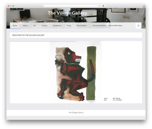 Eezy Store best free WordPress theme - thevillagegallery.in