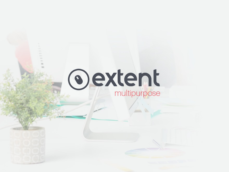 Extent WordPress template for business