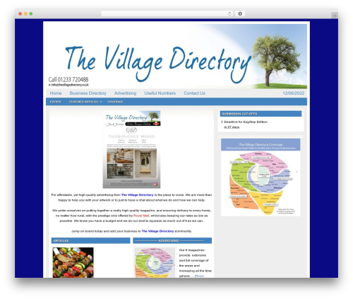 WordPress collision-testimonials plugin - thevillagedirectory.co.uk