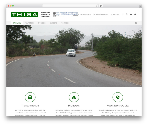 Impreza best WordPress theme - thisacs.com