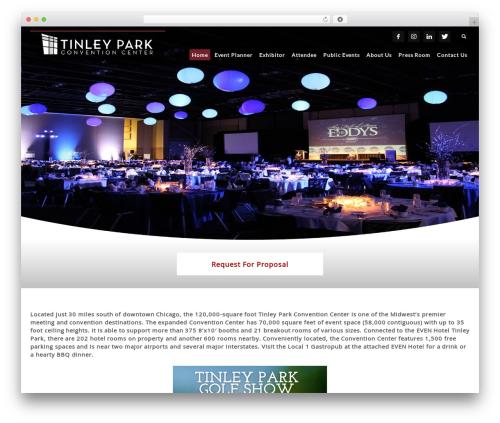 Free WordPress TablePress plugin - tinleyparkconventioncenter.net