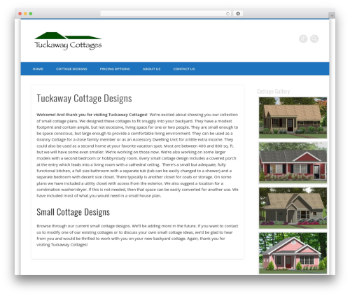 Free WordPress PC Custom CSS plugin - tuckawaycottages.com