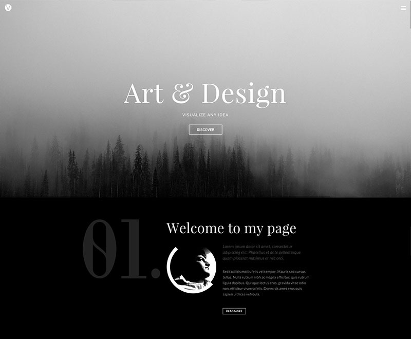 Provolio WordPress portfolio theme