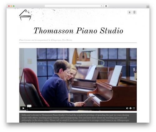Theme WordPress Themify Simfo - thomassonpiano.com