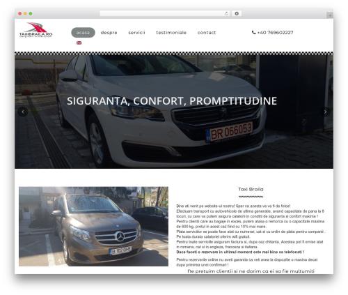 Theme WordPress WP CityCab - taxibraila.ro