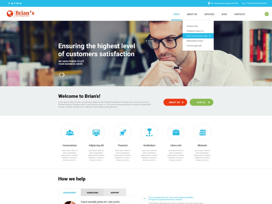 theme54575 best WordPress template
