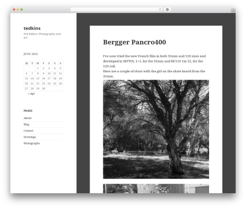 Free WordPress WP-Cirrus plugin - tedkins.com