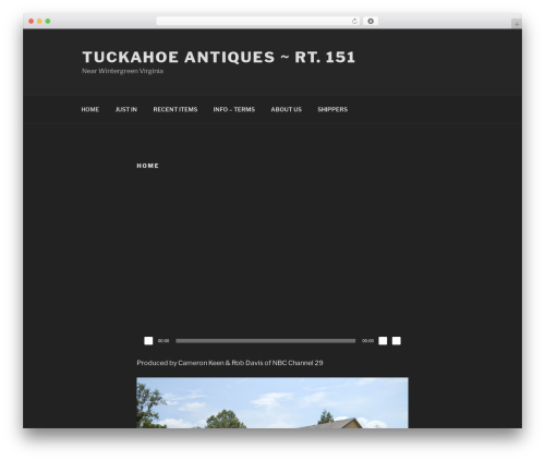 Free WordPress Easy Video Player plugin - tuckahoeantiques.com