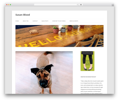 Twenty Twelve free WordPress theme - trouttowers.com