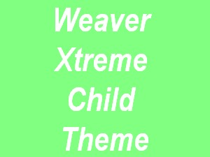 Weaver II Pro Child template WordPress