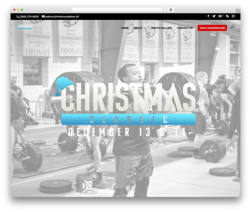 WordPress divi-switch plugin - thechristmasclassic.com