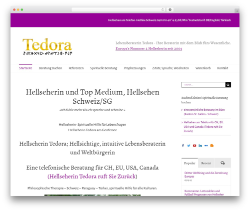 WordPress woocommerce_postfinancecw plugin - tedora.ch