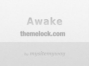 WordPress website template Awake (shared on themelock.com)
