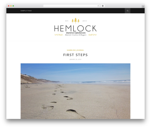 Hemlock (shared on wplocker.com) premium WordPress theme - betinstitute.com