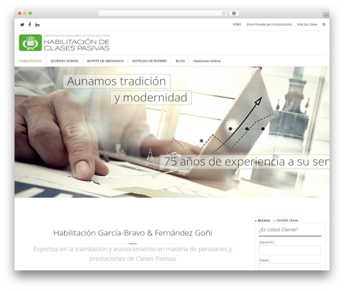 Prime top WordPress theme - habilitadosclasespasivas.com