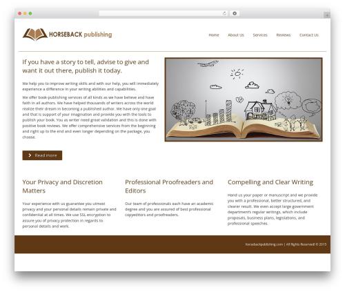 Smartr WordPress theme download - horsebackpublishing.com