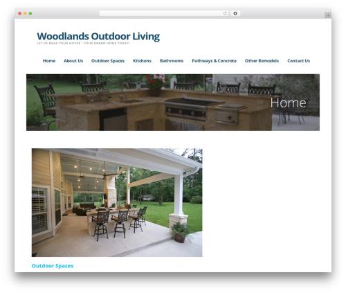 Theme WordPress Ascension - woodlandsoutdoorlivinginc.com