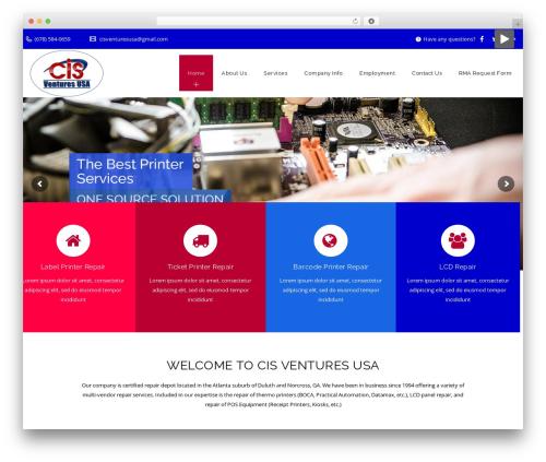 Veda WP template - cisventuresusa.com