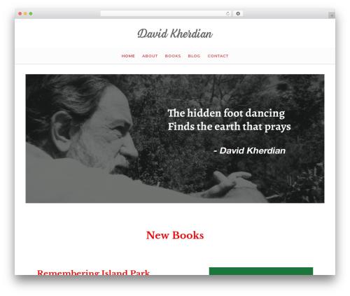 WordPress template Salbii - kherdian.com