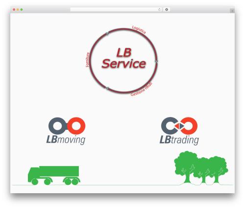 WP template Customizr - lb-service.com