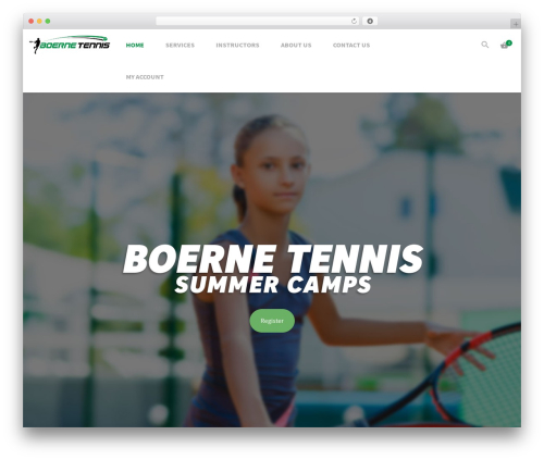 Aslan best WordPress theme - boerneadvantagetennis.com