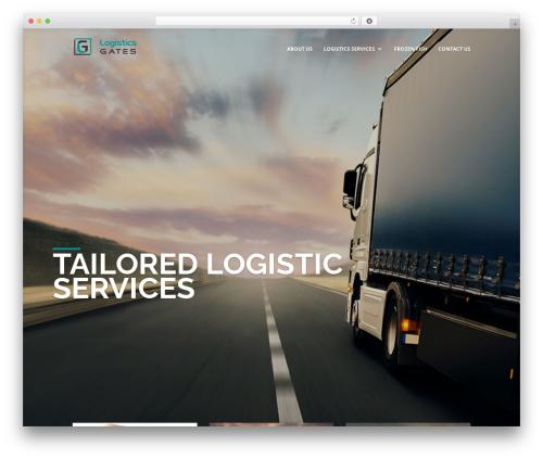 Divi WP template - logisticsgates.com