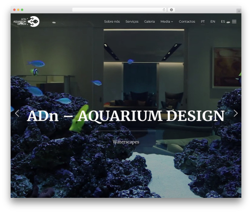 Inspiro theme WordPress - adn-aquariumdesign.com