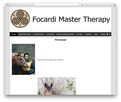 Template WordPress Clean Grid - davidefocardi.com
