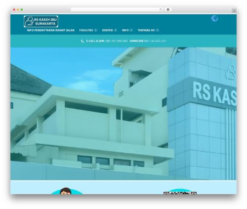 Template WordPress Polyclinic - rskasihibu.com