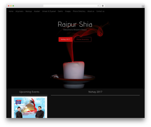 Free WordPress Simple Hijri Calendar plugin - raipurshia.com