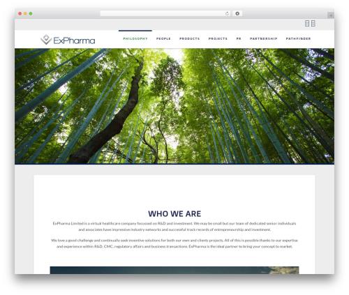 Template WordPress X - expharma.com