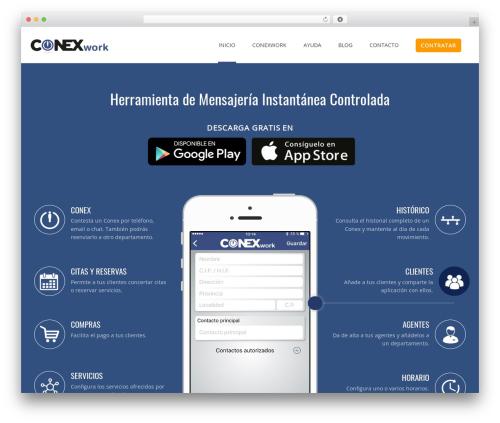 Theme WordPress Applay (shared on wplocker.com) - conexwork.com
