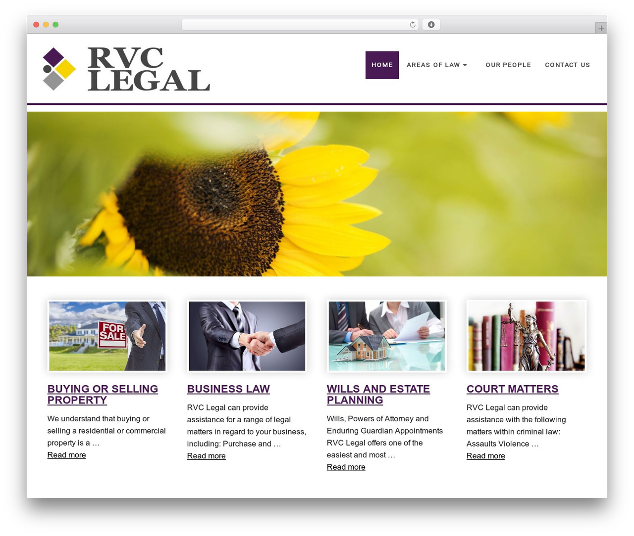 WP theme Minimum Pro Child 001 - rvclegal.com