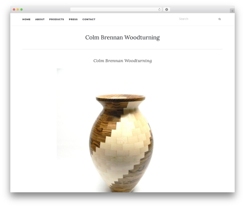Activello template WordPress free - colmbrennanwoodturning.com