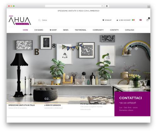 Best WordPress template Oasis - ahuadesign.com