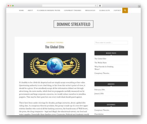 Bulan WordPress free download - dominicstreatfeild.com