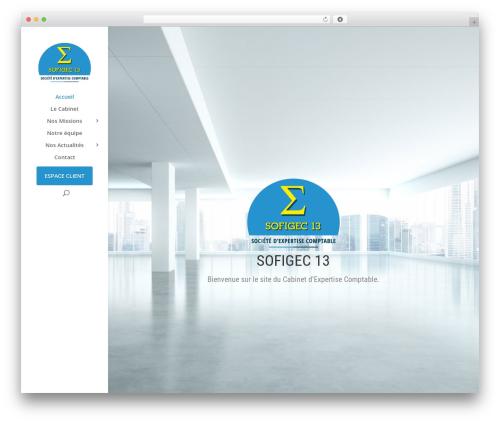 Divi WordPress theme - sofigec13.com