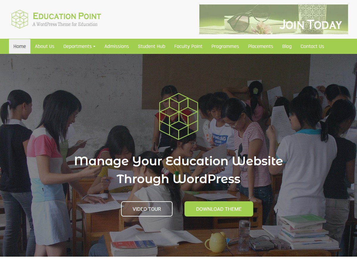 Education Point WordPress blog theme