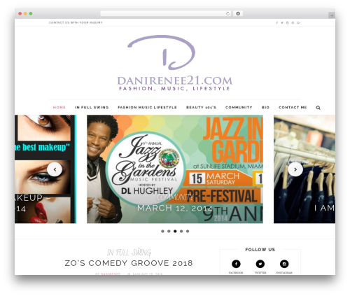 Little Elegancé theme WordPress - danirenee21.com