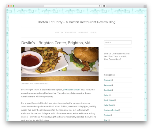Penscratch 2 best WordPress theme - bostoneatparty.com