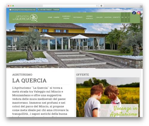 pump WordPress theme - agriturismolaquercia.com