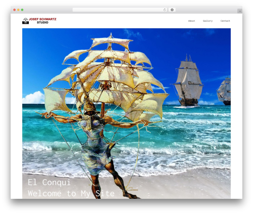 SolarWind WordPress page template - josef-art.com