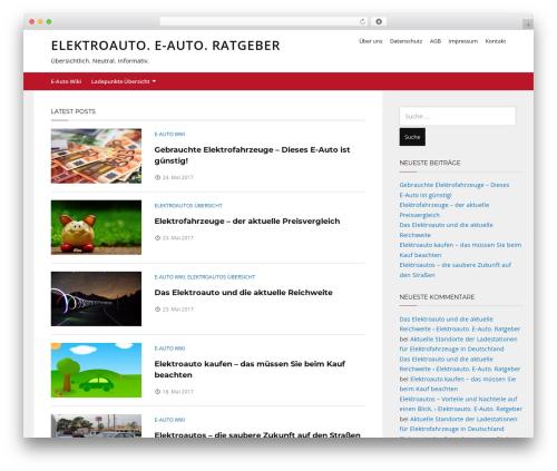 Telescope WordPress theme download - elektroauto-ratgeber.com