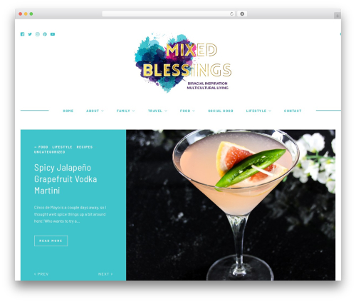 Theme WordPress Hawthorn - mixedblessingsblog.com