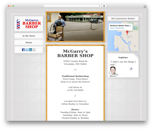 _tk free WordPress theme - mcgarrysbarbershop.com
