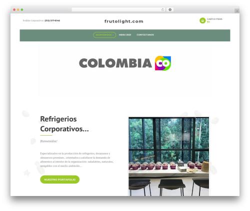 WordPress theme SUNNYJAR - frutolight.com