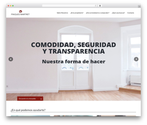 Wp Residence 1.17.2 WordPress template - finquesmartret.com