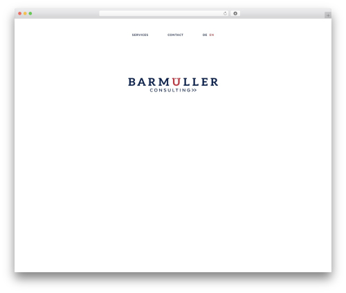 WordPress theme BC - barmueller-consulting.com